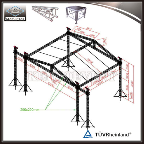 Auminum Box Truss DJ Lighting Truss Lift Tower System pictures & photos