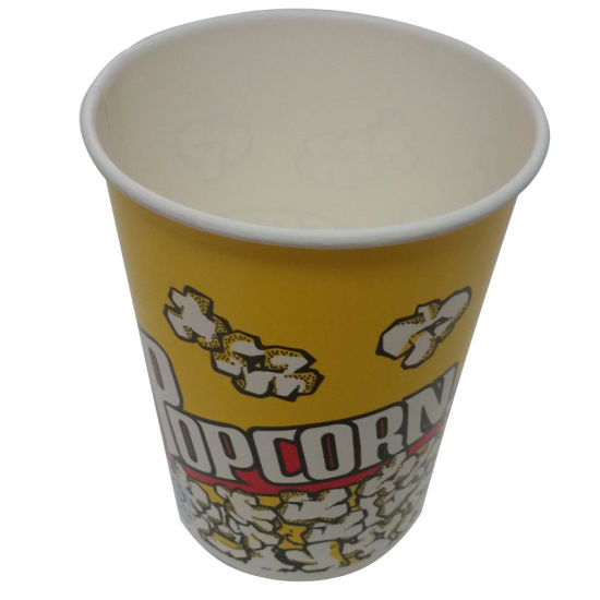 Single Wall Paper Cups for The Popcorn pictures & photos