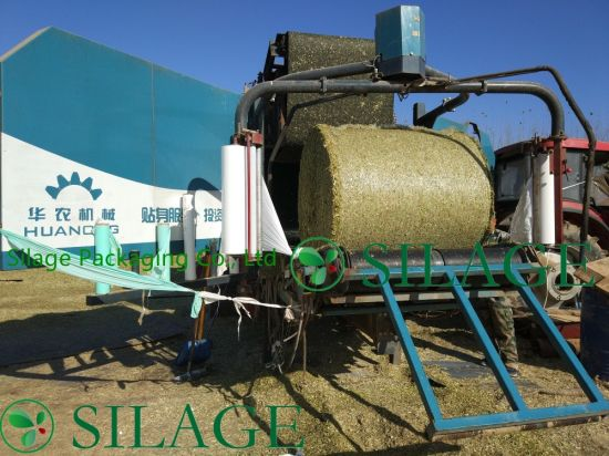 Qualified 0.5m*1500m White Color Bale Net for Small Balers pictures & photos