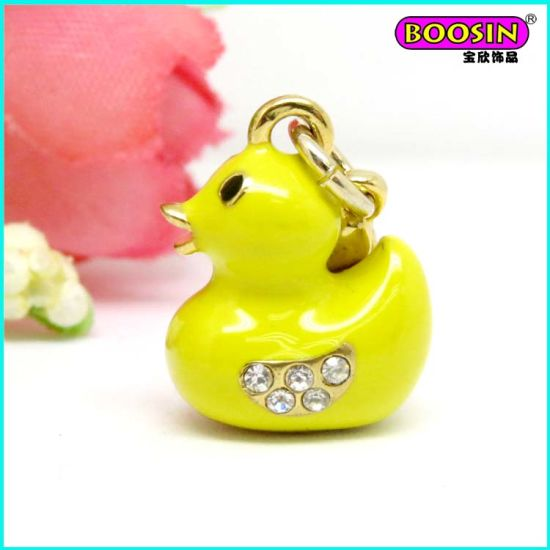 Fashion New Design Custom Enamel Anchor Gold Pendant pictures & photos