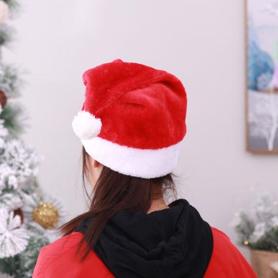 Christmas 30 x 30 cm S//O 20-piece set of Christmas hats Santa hat Santa Claus hat