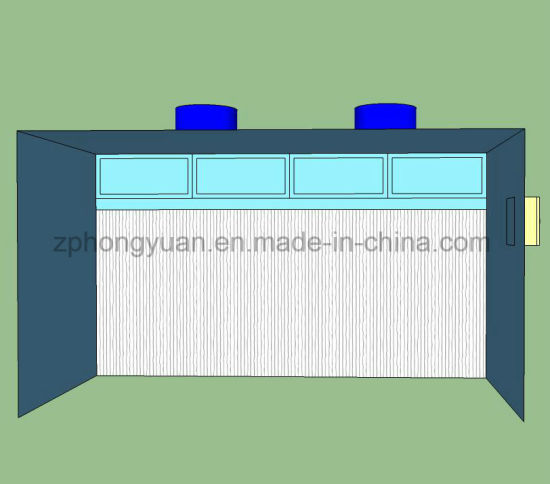 Paper Filter Paint Industrial Booth for Sale with Different Sizes