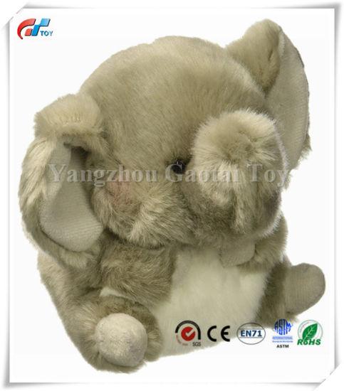 Rolly Pet Trumpeter Elephant Fluffy Plush