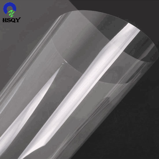 0.18*610mm Transparent Pet Rolls for Vacuum Forming Package