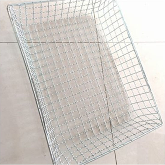 China Stainless Steel Storage Metal Welded Wire Mesh Basket - China ...