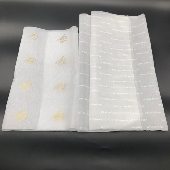 WHITE Coloured Tissue Paper Acid Free Sheets 750mm x 500mm