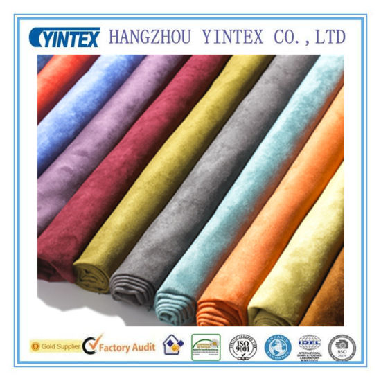 Polyester Short Floss Fabric for Blanket (YINTEX) pictures & photos