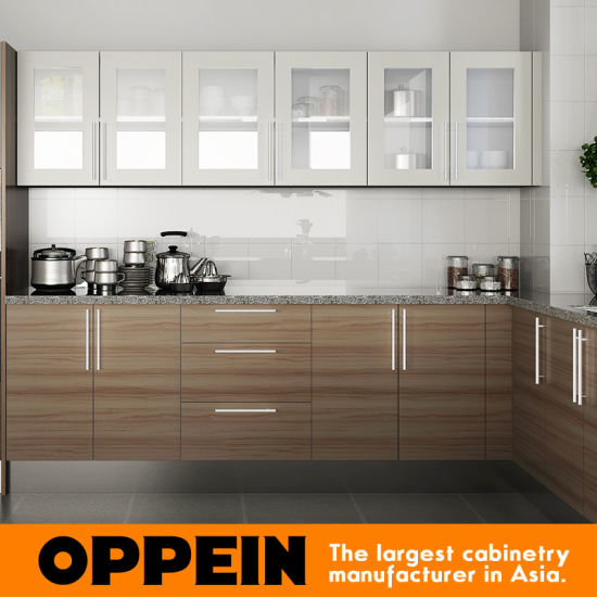 Modular Kenya Project Simple L Shaped Small Kitchen: China Oppein Hot Sale Kenya Project Melamine Wooden