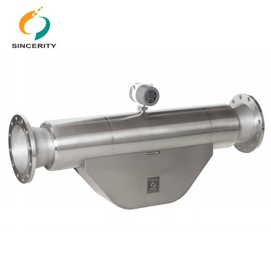 Industrial Energy Coriolis Mass Flow Meter with High Flow Rate pictures & photos