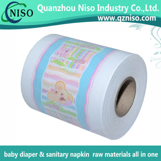 Diaper Raw Materials Cloth-Like Laminated Film with SGS (CI-056)