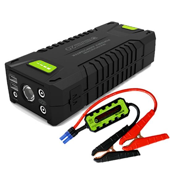 China 20000mah Car Battery Charger Pack Emergency Jump Starter China Emergency Car Battery Charger Portable Jump Starter