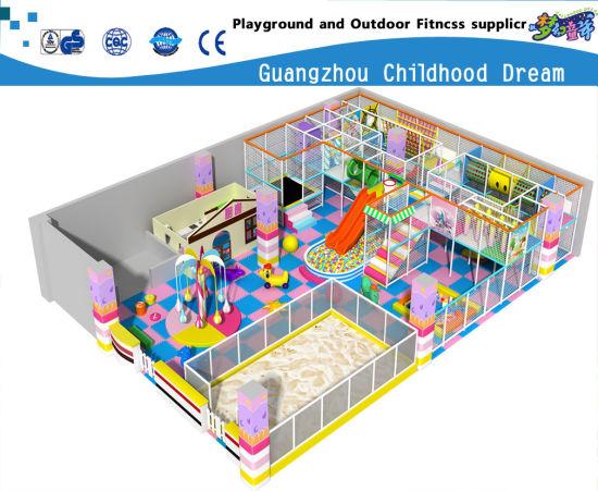 China Indoor Naughty Castle Kids Trampoline Equipment Hc 22332