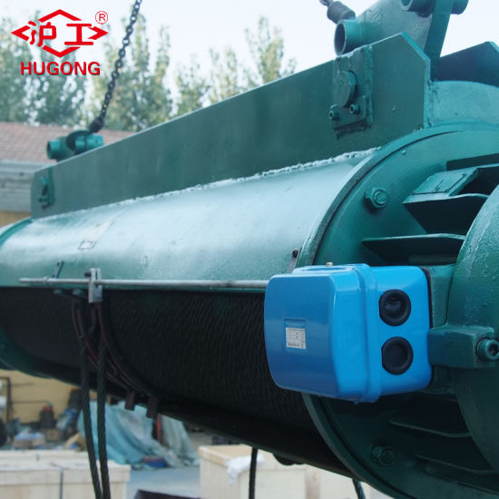 China Manufacturer High Quality 1ton Electric Wire Rope Hoist pictures & photos