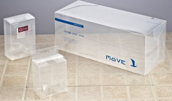 Cheap Clear folding Plastic Box for Packaging (PP box)
