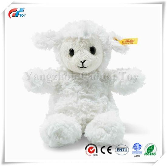 8'' Stuffed Fuzzy Baby Lamb Soft and Cuddly Plush Animal Toy