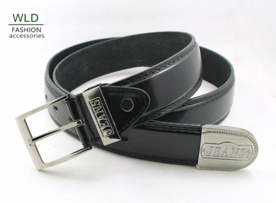 Classic and Basic Man Belt with Split Leather Linning M701