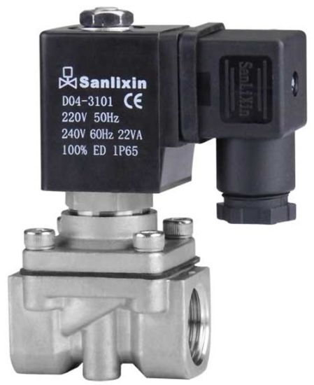 2/2-Way Direct Acting Stainless Steel Solenoid Valve pictures & photos