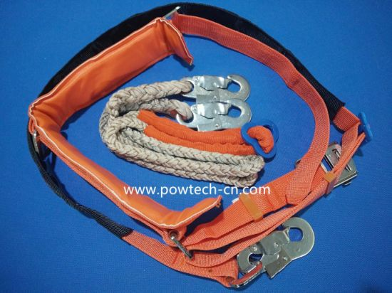 Electric Tool Customized Electrical Transmisssion Installation on The Pole Safety Belt