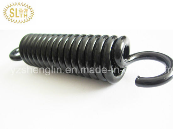 Slth High Quality Extension Spring with Black Oxide Surface Treatment