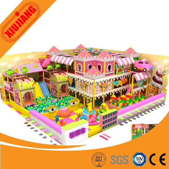 2015 Original Design Indoor Playground Equipment for Children