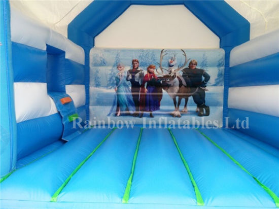 Rainbow Frozen Bouncy Castle for Sale pictures & photos