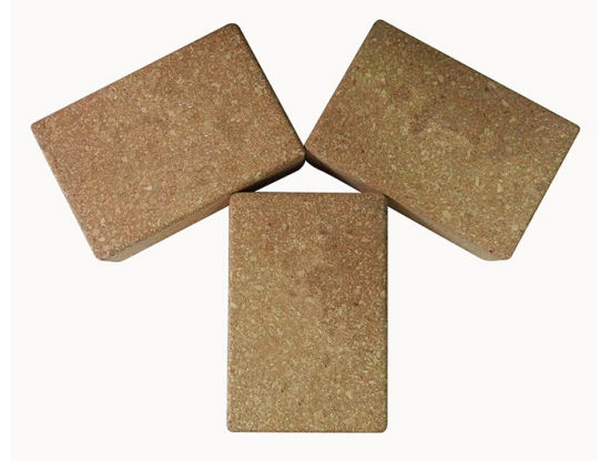 OEM Natural Cork Yoga Brick China Factory pictures & photos