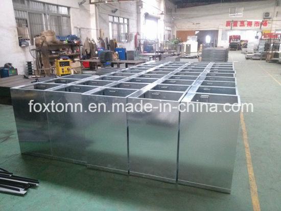 OEM Sheet Metal Fabrication Galvanized Metal Case