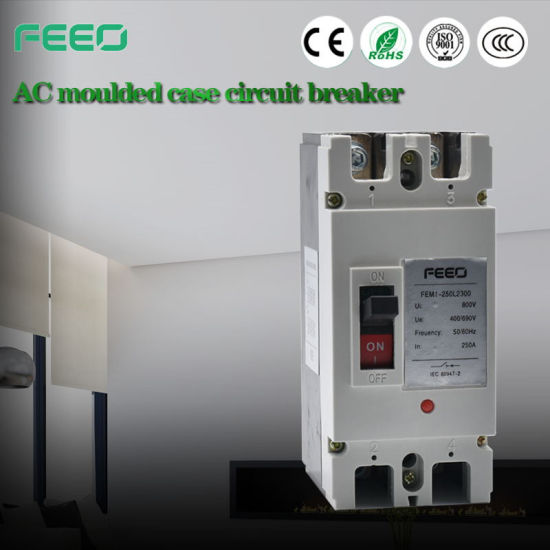 Professional Manufacture 3p MCCB Moulded Case Circuit Breaker pictures & photos