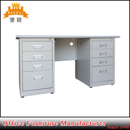 office metal desk. Metal Desk Steel Executive Double Pedestal Office Table