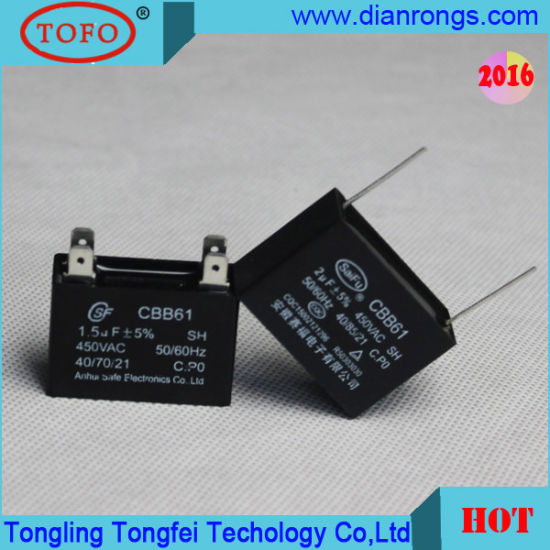 Air Conditioner Capacitor with Safety Anti-Explosion Function
