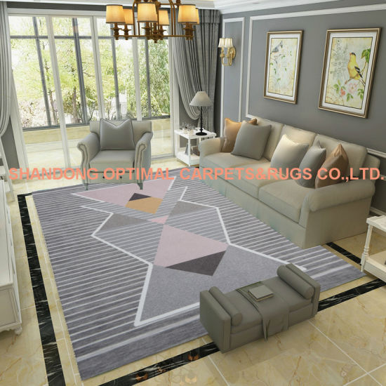 Printed Rugs Center Table Carpet