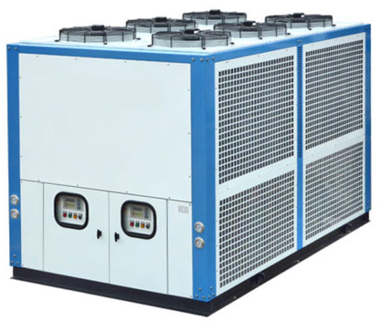 Industrial Air Cooled Chiller With 60ton Water Tank