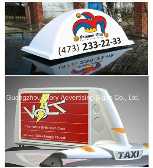 China Custom Taxi Light Box Taxi Top Light Box - China Taxi