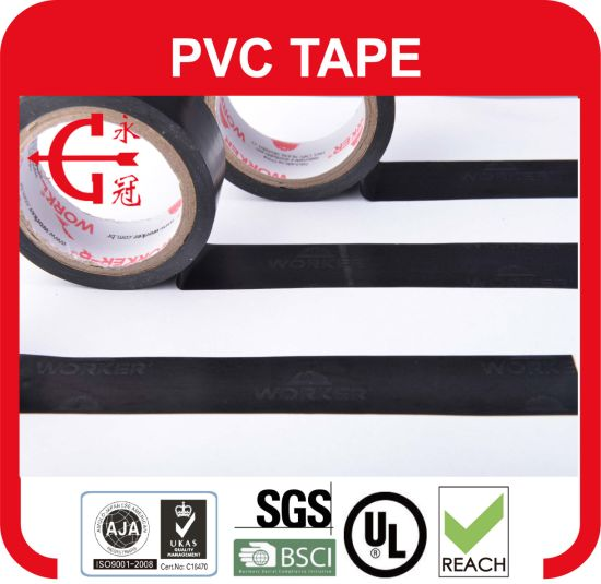 130mm*50m Auto Wire Harness PVC Insulating Tape in China pictures & photos