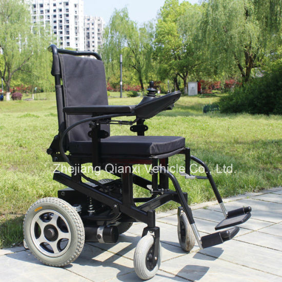 Height Adjustable Electric Wheelchair for Elderly -107fl pictures & photos