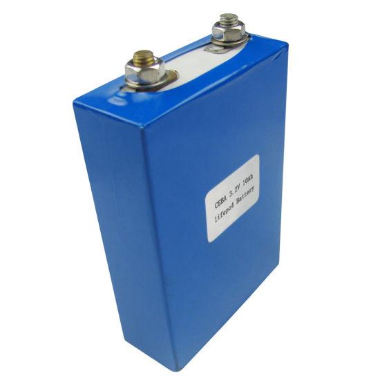 3.2V 10ah LiFePO4 Cell Power Lithium Battery Green LFP Battery Solar Energy