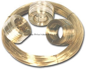 Round and Flat Type Scourer Wire Brass Wire pictures & photos