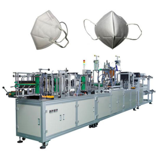 Full Automatic N95 Face Facial Mask FFP3 3D Making Producing Machine