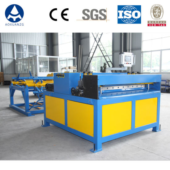 Duct Manufacture Auto Line 2, HVAC Duct Making Machine with Tdf Flange Machine, Super Auto Duct Line 2