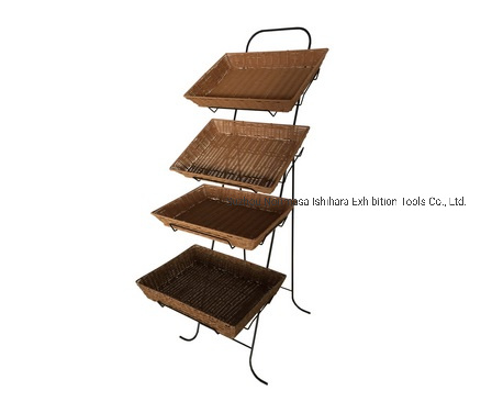 China Supplier of Display Rackchina Products/Suppliers. Metal Wire Floor Retail Store Wholesale Display Advertising Steel Display Stand Rack