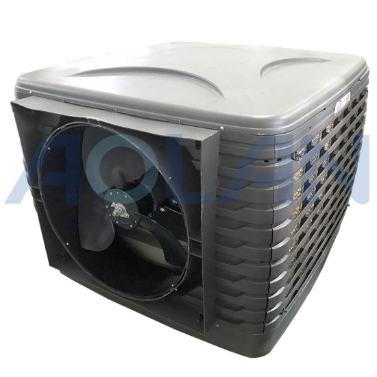 18000m3/H Aiflow Axial Fan Down Discharge Workshop Ventilation Cooling System Azl18-Zx10e