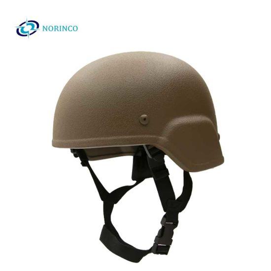 Military Law Ballistic Advanced Combat Enforcement Aramid/UHMWPE Hard Advanced Combat Bullet Proof Helmet