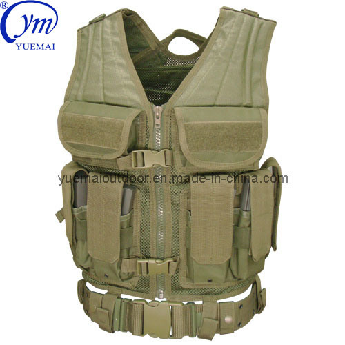 Military Combat Tactical Security Molle Entry Army Camo Vest pictures & photos