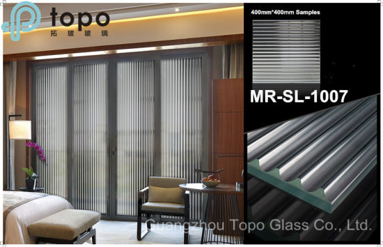Safety Tempered Hot Melting Glass for Commercial Using (MR-SJ-1007) pictures & photos