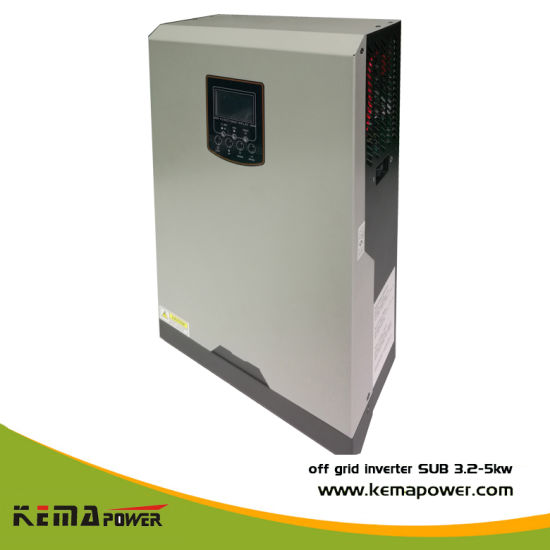 on off Grid Hybrid Solar Power System Pure Sine Wave Inverter Built in MPPT Controller Battery