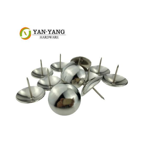 China Supplier Wholesale Silvery Sofa Nail Decorative Chair Nail for Sofa