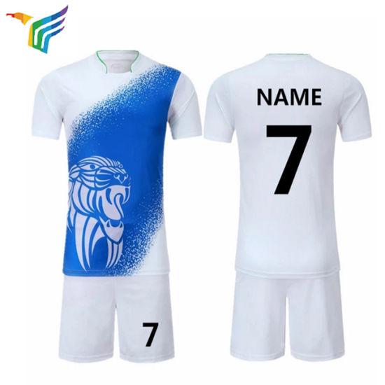 27ddbfbd77d OEM Fashion High Quality Football Shirt Maker Custom Soccer Jersey Set