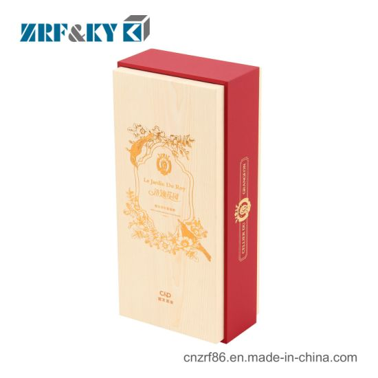 Custom Luxury Paper Red/Sparkling/Spirits Wine Bottle Glass Packing Gift Boxes