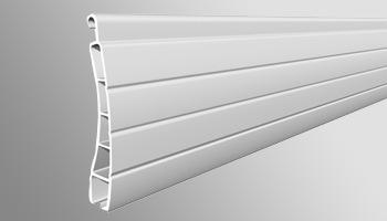 Aluminum Roller Shutter Profiles 42mm Double Layer Slat