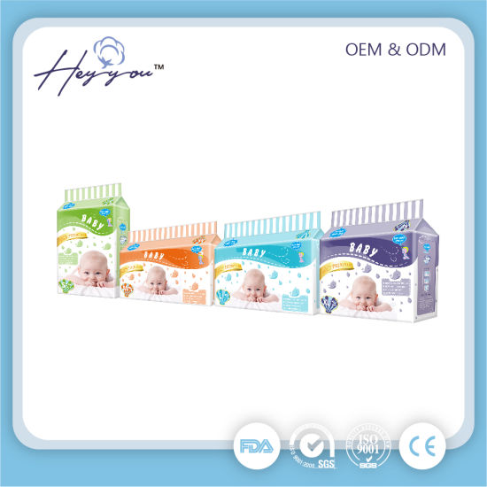 Cotton Soft and Breathable Ultra Thin High Absorption Nature Pure Disposable Baby Diaper Manufacturer/Baby Pull up Diaper pictures & photos